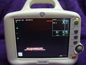 Ge Dash 3000 Patient Monitor With Side Stream Co2