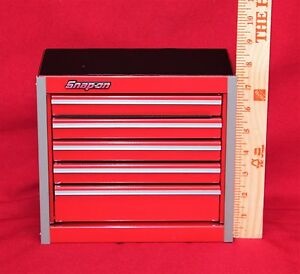 Snap On Red Mini Bottom Roll Cab Tool Box Brand New