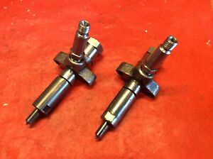 Ford Fordson Tractor Simms Diesel Injectors Nl179 Nozzles Rebuilt