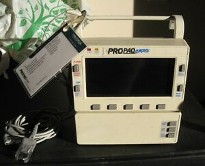 Propaq Encore Model 204el Medical Monitor With Printer