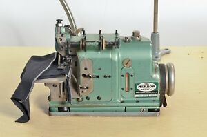 Merrow Industrial Serger Sewing Machine Model Mg 1d 2 With Table