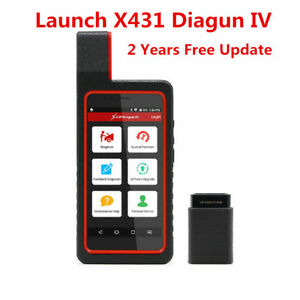 Launch X431 Diagun Iv Car Diagnostic Tool Wifi Bluetooth With 2 Year Free Update