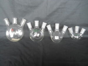 Used 23 Piece Advanced Organic Glassware Kit Rbfs Columns Condensers Adapter