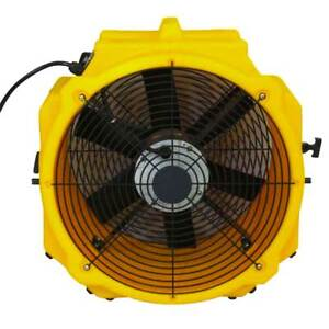 Zoom Commercial Air Mover Ventilation Fan Axial Indoor Outdoor Blower 3900 Cfm
