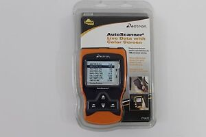 New Actron Cp9670 Autoscanner Trilingual Obd Ii And Can Scan Tool Color Screen
