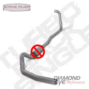 Diamond Eye 4 Exhaust 03 07 Ford Powerstroke Diesel 6 0l No Muffler Auto Only