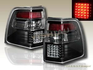 07 08 09 10 11 Ford Expedition Xlt El Limited Led Tail Lights Black Left Right