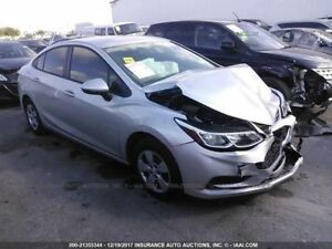 Manual Transmission Gasoline Fits 16 18 Cruze 1057175