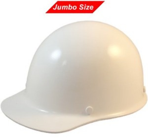 Msa Skullguard Cap Style Jumbo Size Hard Hat With Fas trac 3 Ratchet Suspension