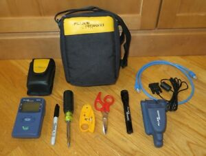 Fluke Networks Nettool 10 100 Connectivity Tester W pro Voip Options Tools