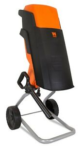 Wen 41121 15 amp Rolling Electric Wood Chipper And Shredder