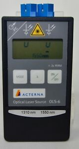 Acterna Ols 6 Optical Laser Source 1310nm 1550nm With Manual Excellent