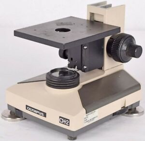 Olympus Optical Ch 2 Cht Laboratory Magnetic Microscope Stand W Lamp Parts