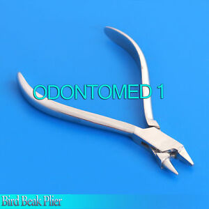 3 Dental Bird Beak Plier Orthodontics Wire Bending Stainless Steel Instruments