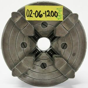 Skinner 6 4 Jaw Independent Manual Chuck 1 1 2 8 Mount