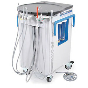 Aseptico Amc 25 Mobile Dental Cart