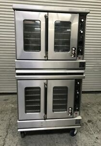 Double Stack Gas Convection Ovens Montague 115a 8024 Commercial Bakery Oven