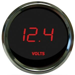 Intellitronx Ms9015r 2 1 16 Led Digital Voltmeter Gauge 7 0 25 5 Volts