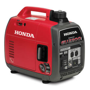 Honda Eu2200i Super Quiet Portable Inverter Generator Free Fast Shipping