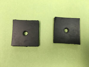 Lot Of 2 Oliver Tractor Radiator Mounting Pad Super 55 550 1e514