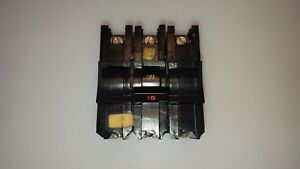 Fpe Federal Pacific Nb315 Bolt on Circuit Breaker Type Nb 15 Amp 3 Pole