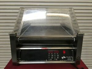 45 Hot Dog Roller Grill Star 45 Sce 6634 Commercial Display Rolling Cooker Ul