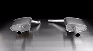 Remus Axle Back Sport Exhaust Audi Q5 2 0 Tfsi 102mm Angled Chrome Rolled Tips
