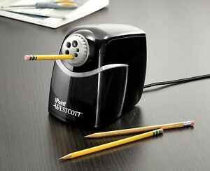 Heavy Duty Classroom Electric Pencil Sharpener 6 holes