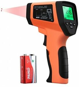 Welquic Professional Double Laser Infrared Thermometer With Non contact Sensor