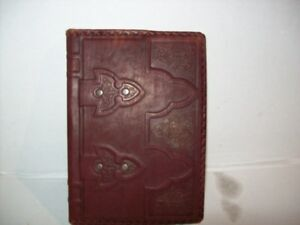 A5 Handmade Journal With Embossed Leather Cover Bounded Refillable 400 Pag