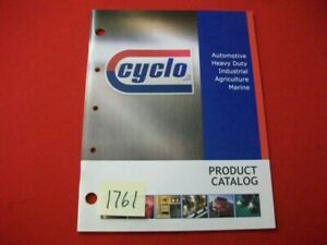 Cyclo Auto Heavy Duty Industrial Agriculture Marine Products Catalog Reference