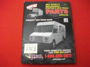 Mill S Supply Replacement Stepvan Straight Box Truck Parts Catalog Reference