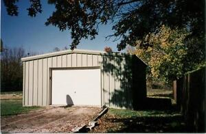 Steel Building 24x24x14 Simpson Building Shop Building Steel Garage Structure