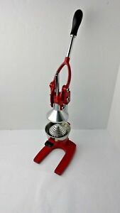 Palm Restaurant Commercial Juice Press Extra large Juicer Red