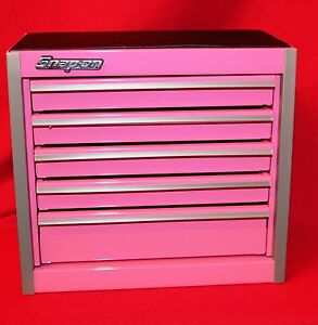 Snap On Pink Mini Bottom Roll Cab Tool Box Brand New