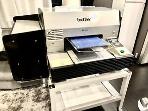 Brother Gt 541 Direct To Garment Printer Immaculate Condition Low Prints