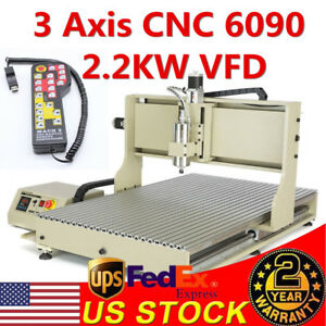 Usb Port 4 Axis 6090 Cnc Router engraver Machine Kit mach3 Handwheel Controller