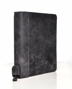 Bind System Planner A5 Vintage Brown Leather 1 3 8in Zip