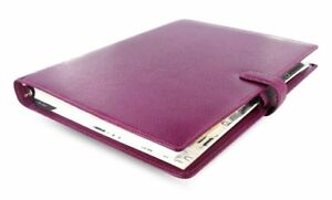 Filofax Finsbury A4 Raspberry Organizer Appointment Planner 0 31 32in Leather