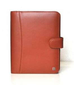 Time system Montana A5 Brown Ring Binder Business 1 3 8in Vl Organiser