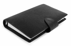 Filofax Calipso Compact Black Organiser Leather 0 19 32in Planner A6 Calendar