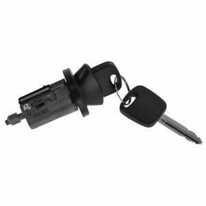 Ignition Lock Cylinder With Key Black Bezel For Ford Lincoln Mercury