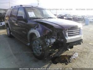 Driver Front Seat Sport Trac Bucket Air Bag Leather Fits 06 08 Explorer 327714