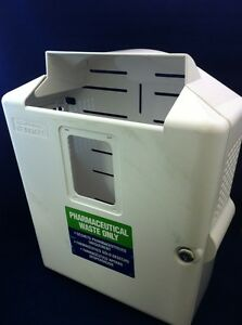 Kendall In room Sharpsafety Wall Enclosure Sharps Disposal System 85301h See Des