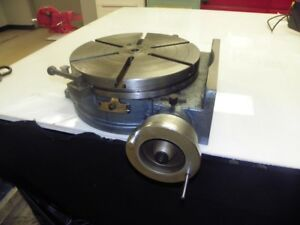 16 Yuasa Model 550 055 Horizontal Vertical Mount Rotary Table