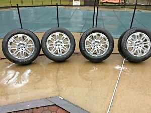 2009 Ford F 150 Oem Wheels And Tires Used Take Offs F150 Platinum