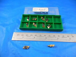 10 Pcs New Tool Flo Tf18065 J5 Fltp 2l 8p Gp3 Grade Carbide Top Notch Inserts