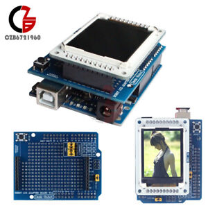 1 8 Inch Tft Lcd Shiled Adapter Board For Arduino Uno Tftlcd Display Ide1 0 5