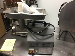 American Eagle Ae g12n 1hp Stainless Steel Commercial Meat Grinder