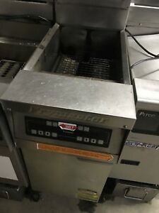 Used Frymaster Fph155sd 50lbs Fryer With Digital Control And Filter Natural Gas